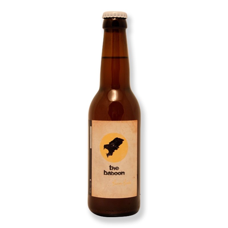 Bière The Baboon Banana Bomba 25cl